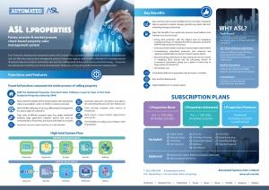 ASL i.Properties Leaflet